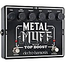 Electro-Harmonix XO Metal Muff with Top Boost Distortion Guitar Effects Pedal (XOMETALMUFF)
