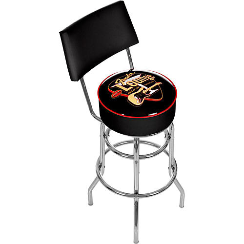 Fender Electro Lounge 30 Quot Bar Stool With Back Guitar Center