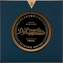 D'Angelico Electrozinc Jazz 13-56 Medium Electric Guitar Strings