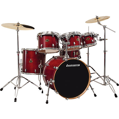 Ludwig Element Birch Fusion 6-Piece Shell Pack-thumbnail