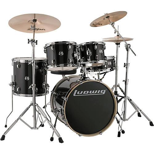 ludwig element evolution 5 piece drum set guitar center. Black Bedroom Furniture Sets. Home Design Ideas