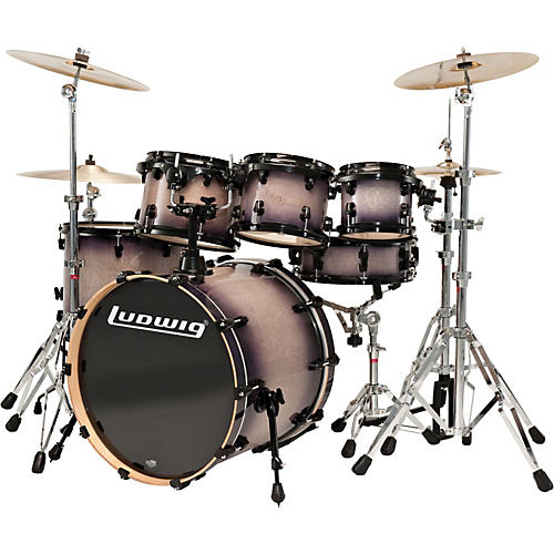 Ludwig Element Lacquer 6-Piece Power Fusion Shell Pack-thumbnail