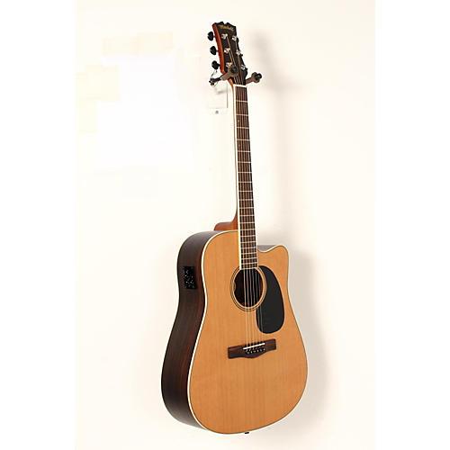 blemished mitchell element series me2cec dreadnought cutaway acoustic electric guitar guitar. Black Bedroom Furniture Sets. Home Design Ideas