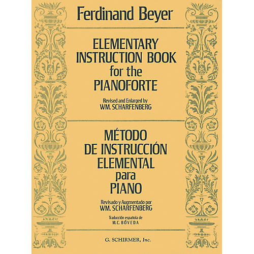 G. Schirmer Elementary Instruction Book For The Pianoforte - Metodo De Instruccion Elemental by Ferdinand Beyer-thumbnail