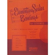 Hal Leonard Elementary Scales And Bowings - Cello
