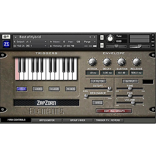 ZapZorn Elements Sound Design Software Download-thumbnail