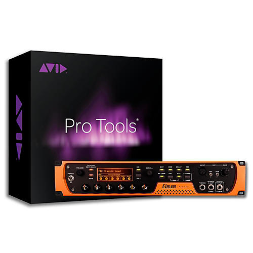 Avid Eleven Rack Guitar Multi Effects Processor and Pro Tools