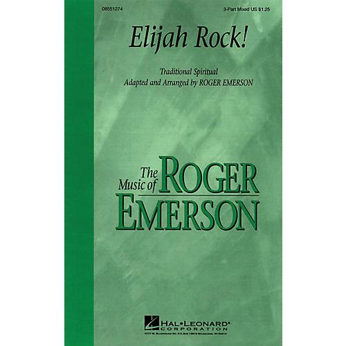 Hal Leonard Elijah Rock 3-Part Mixed