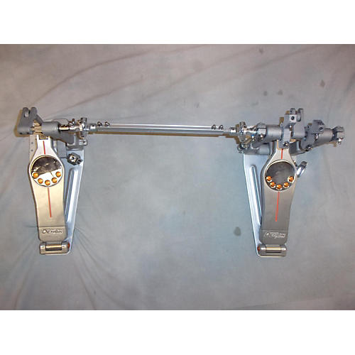 used pearl eliminator demon chain drive double pedal double bass drum pedal guitar center. Black Bedroom Furniture Sets. Home Design Ideas
