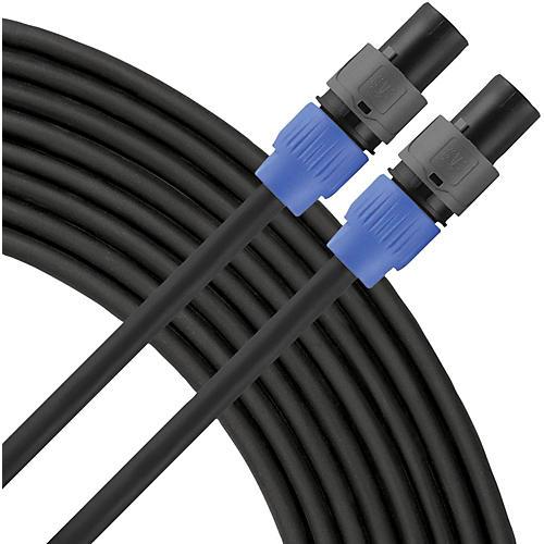 Livewire Elite 12g Speaker Cable Speakon to Speakon 25 ft. Black