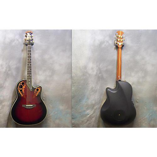 Ovation Elite 2078 Ax Acoustic Electric Guitar 2tone burst