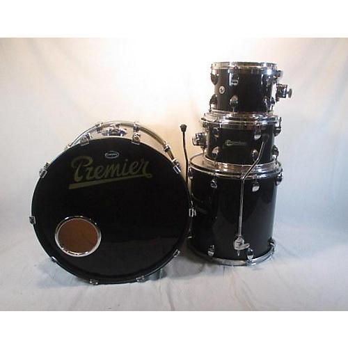 used premier elite drum kit black guitar center. Black Bedroom Furniture Sets. Home Design Ideas