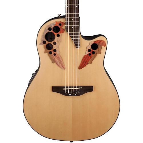 Applause Elite Mid-Depth Bowl Acoustic-Electric Guitar-thumbnail