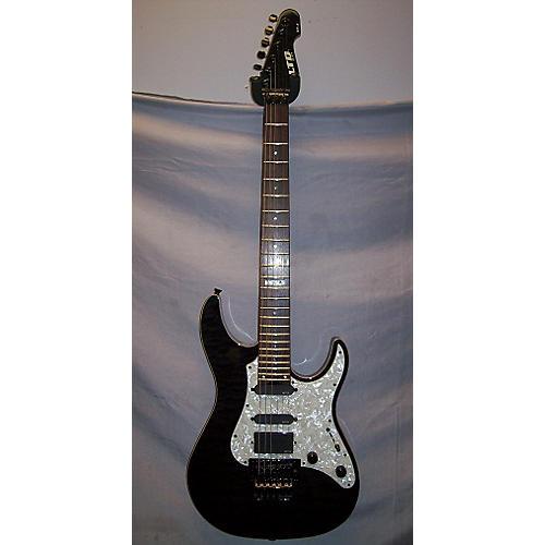 ESP Elite ST1 Solid Body Electric Guitar Trans Black