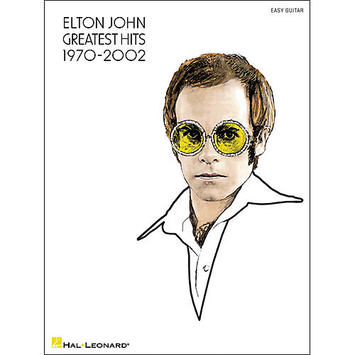 Hal Leonard Elton John Greatest Hits 1970-2002 (Easy Guitar with Tab)-thumbnail