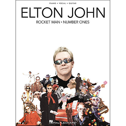 Hal Leonard Elton John Rocket Man Number Ones arranged for piano, vocal, and guitar (P/V/G)-thumbnail