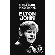Music Sales Elton John The Little Black Songbook