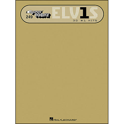 Hal Leonard Elvis 30 #1 Hits E-Z Play 249