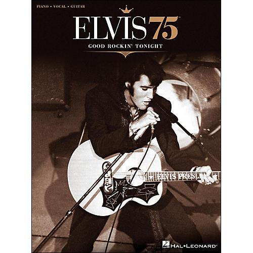 Hal Leonard Elvis 75 Good Rockin' Tonight PVG