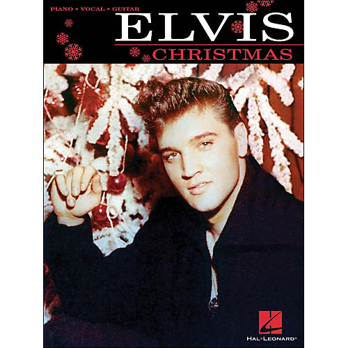 Hal Leonard Elvis Christmas arranged for piano, vocal, and guitar (P/V/G)-thumbnail