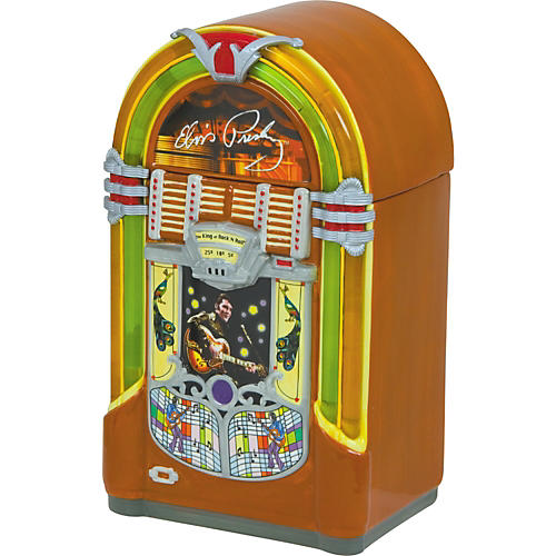 Vandor Elvis Jukebox Cookie Jar-thumbnail