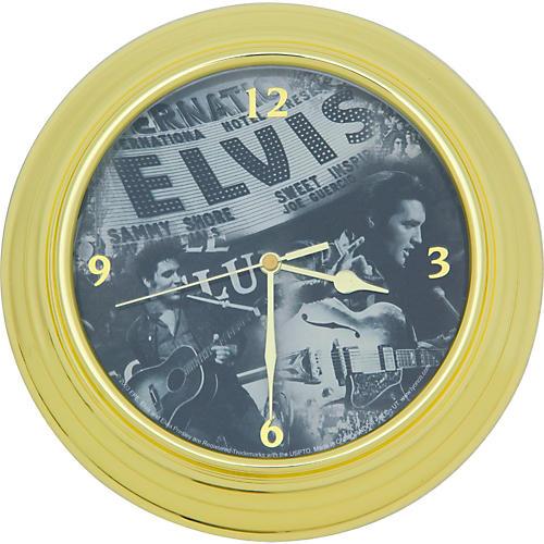 Vandor Elvis 'Live' Wall Clock