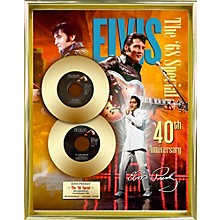 24 Kt. Gold Records Elvis Presley - 68 Special 40th Anniversary Gold 45 Limited Edition of 2008