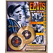 24 Kt. Gold Records Elvis Presley - Hound Dog/Don't Be Cruel Gold 45 Limited Edition of 1956