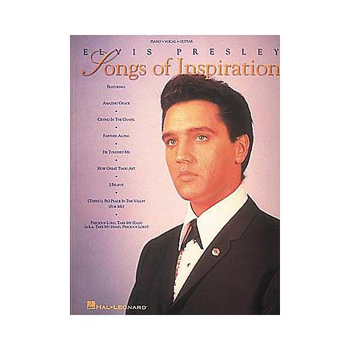 Hal Leonard Elvis Presley - Songs Of Inspiration Book-thumbnail