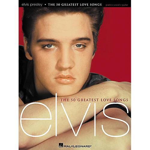 Hal Leonard Elvis Presley - The 50 Greatest Love Songs Book-thumbnail