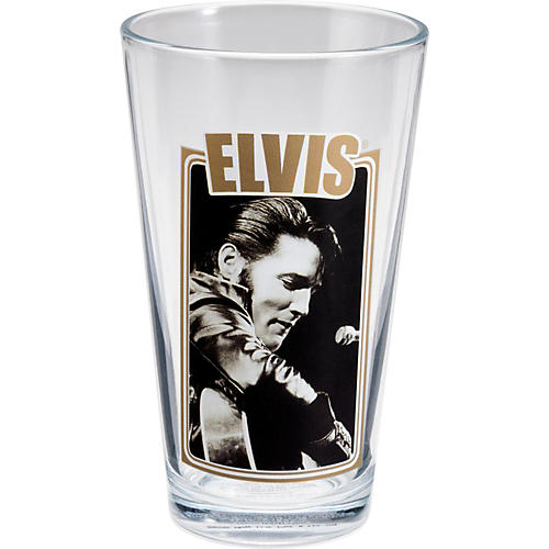 Vandor Elvis Presley 4-Piece 16 oz. Glass Set