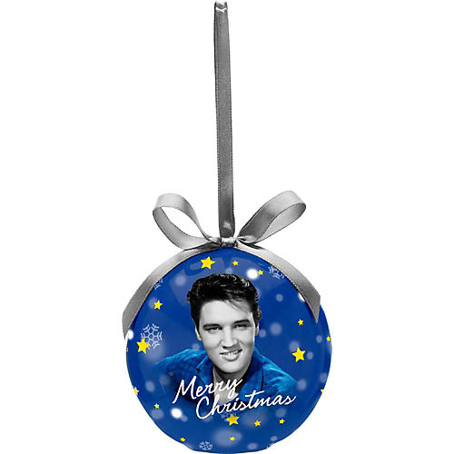 Vandor Elvis Presley Decoupage LED Christmas Ornament