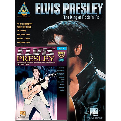 Hal Leonard Elvis Presley Guitar Pack Book/DVD-thumbnail