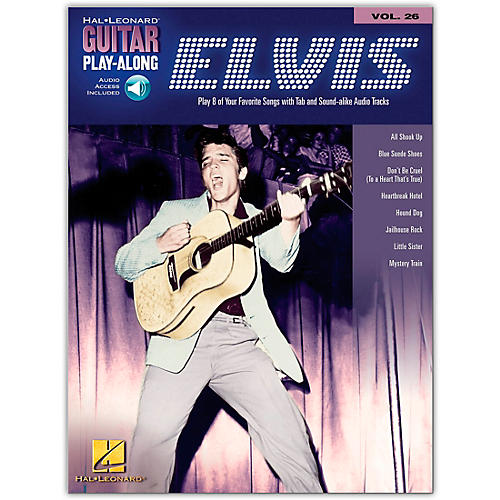 Hal Leonard Elvis Presley Guitar Play-Along Series Volume 26 (Book/Online Audio)