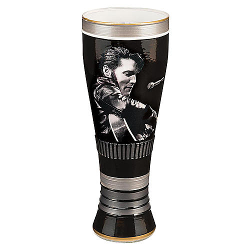 Vandor Elvis Presley King of Rock and Roll 20 oz. Hand Painted Glass-thumbnail