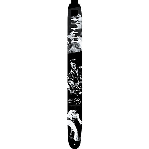 Perri's Elvis Presley Photo Collage Guitar Strap