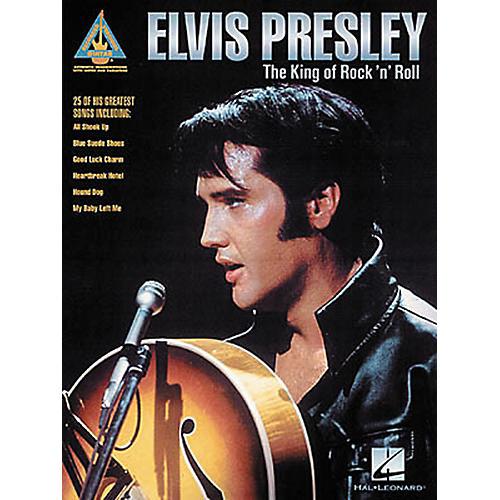 Hal Leonard Elvis Presley The King of Rock 'n' Roll Guitar Tab Songbook-thumbnail