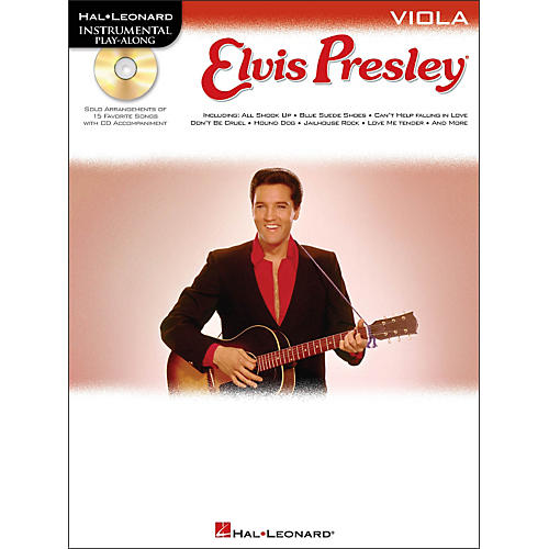 Hal Leonard Elvis Presley for Viola - Instrumental Play-Along Book/CD Pkg