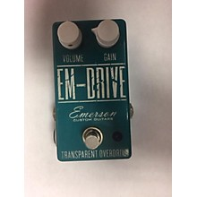 Emerson Em Drive Transparent Overdrive Effect Pedal
