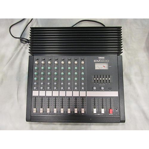 Yamaha Em1800 Powered Mixer-thumbnail