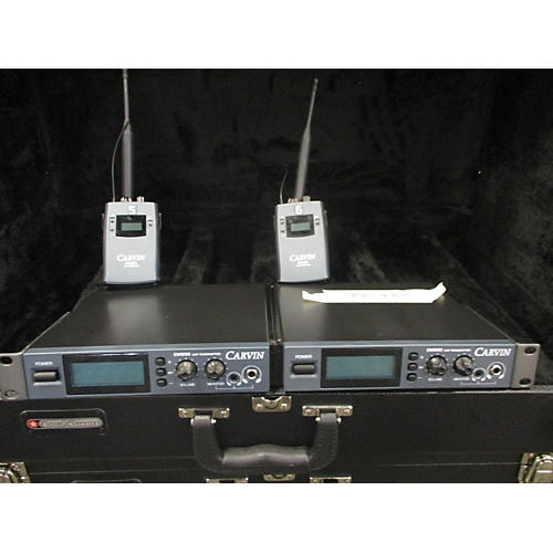 Carvin Em900 Pair With Receivers In Ear Wireless System-thumbnail