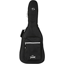 Seagull Embroidered Logo Guitar Gig Bag Level 1 Black Dreadnought