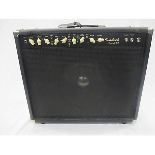 used two rock emerald 50 1x12 k m era tube guitar combo amp guitar center. Black Bedroom Furniture Sets. Home Design Ideas