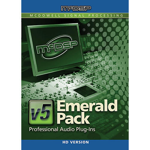 McDSP Emerald Pack HD v6 (Software Download)