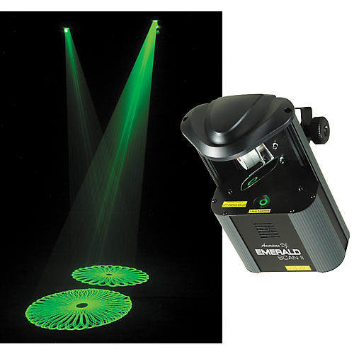 American DJ Emerald Scan II Green Laser System-thumbnail
