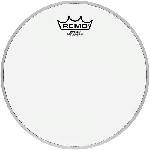 Remo Emperor Clear Crimplock Tenor Drumhead 10 in.