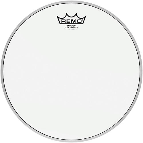 Remo Emperor Clear Crimplock Tenor Drumhead 12 in.