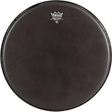 Remo Emperor Ebony Suede Marching Bass Drumhead Level 1 Black Suede 18