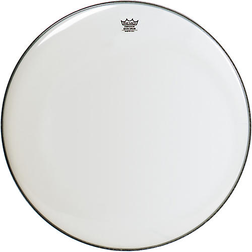 Remo Emperor Smooth White Bass Drum Head  24 in.