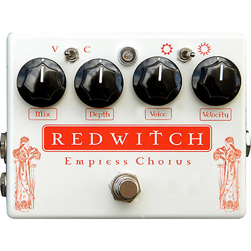 Red Witch Empress Analog Chorus-Vibrato Guitar Effects Pedal-thumbnail